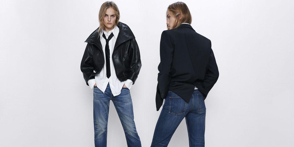 Estos Vaqueros De Zara Para Mujer Tienen Algo Muy Especial