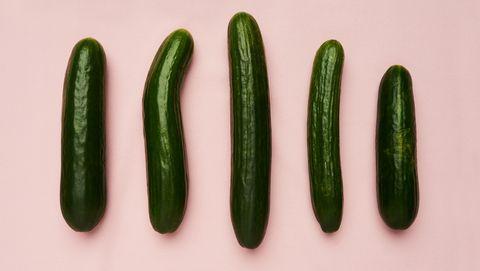 verschillende komkommers