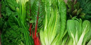 Various leafy vegetables