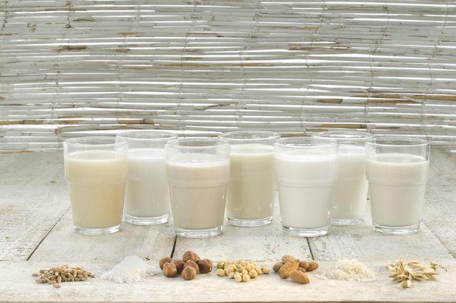leche vegetal casera