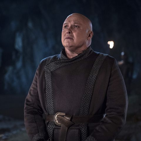 Game of Thrones fans spot Conleth Hill's 'frustrated' reaction to Varys' death during table read