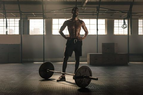 Physical fitness, Deadlift, Barbell, Weightlifting, Strength training, Gym, Weight training, Shoulder, Crossfit, Exercise equipment,