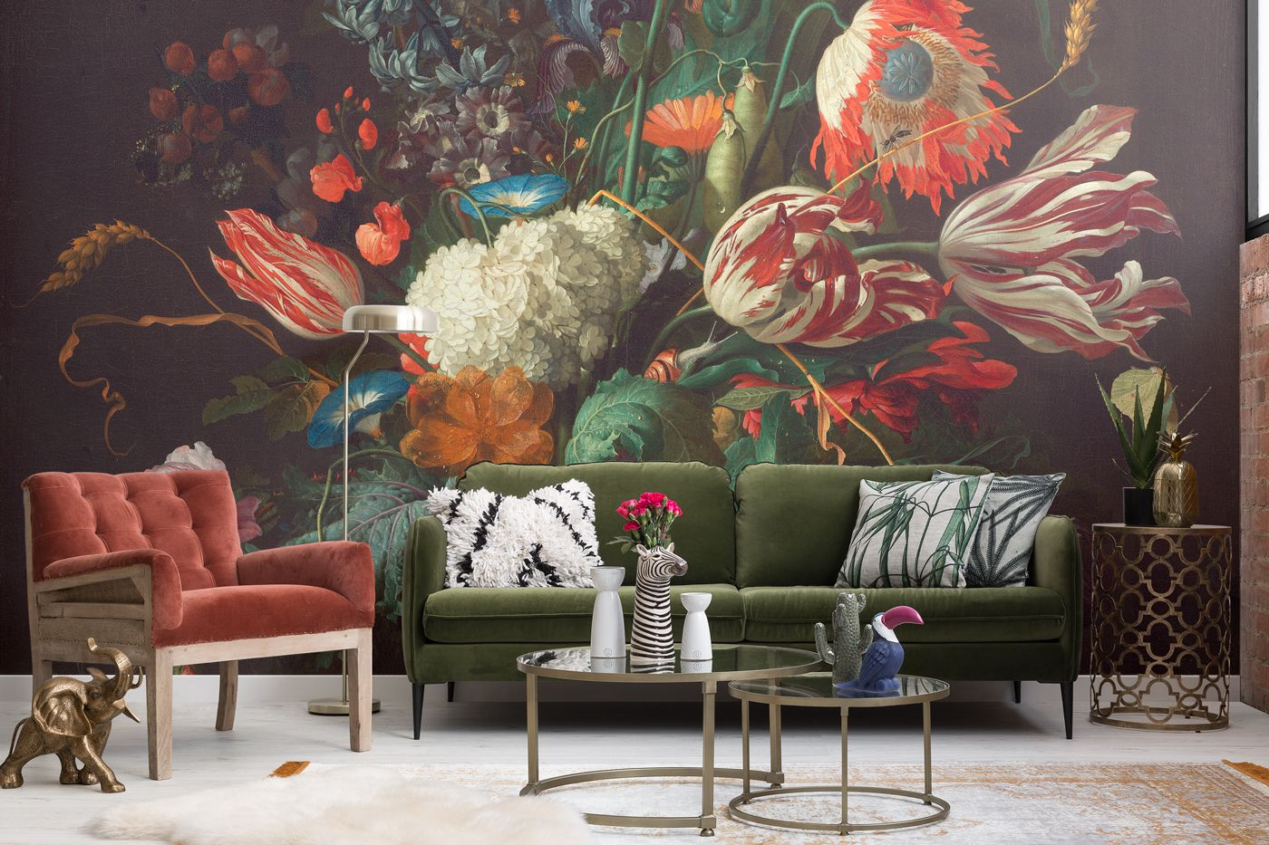 housebeautiful.com - Olivia Heath - Maximalism is 2018's Top Interior Design Trend - Maximalist Design Ideas