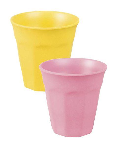 Vasos desechables de colores