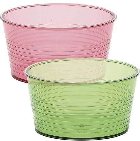 Menaje: Vasos de plástico de colores