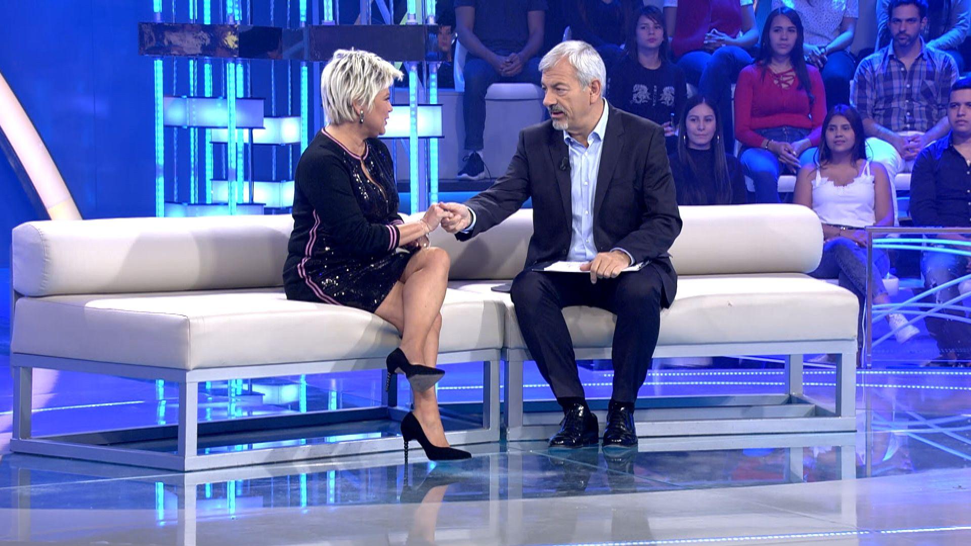 Terelu Campos, sorprendida por su hija en 'Volverte a ver'