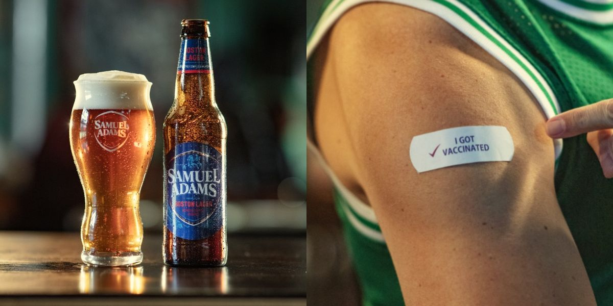 Sam Adams Will Buy People Who Get Vaccinated A Beer From Their Favorite Local Spot