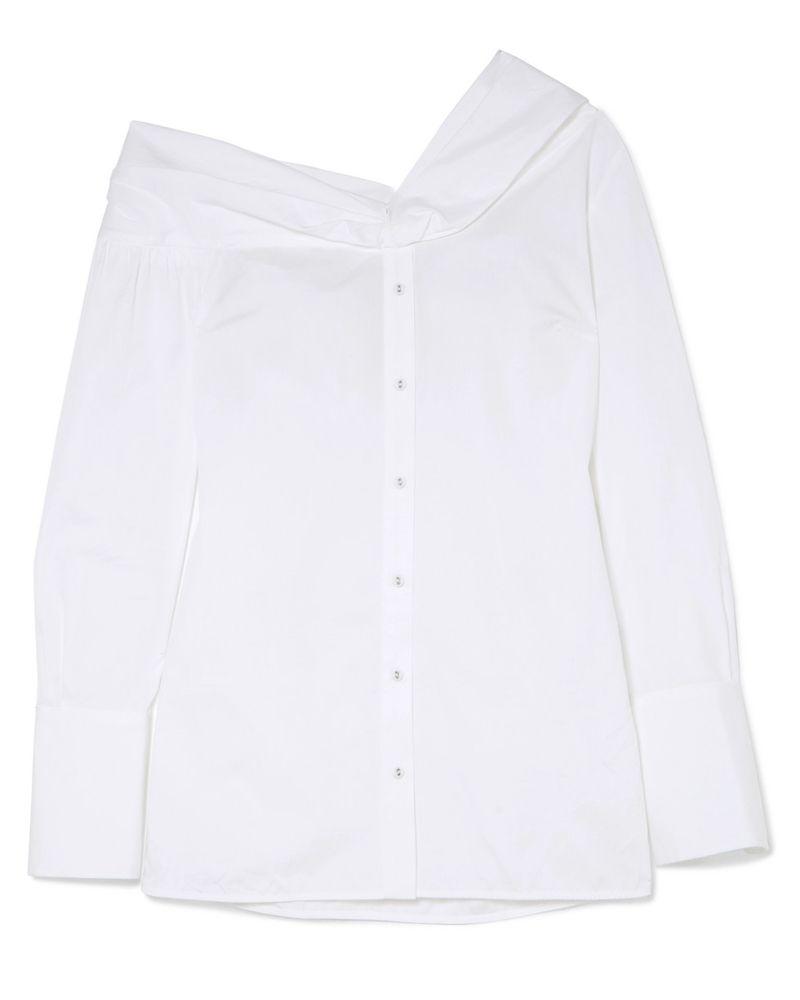 Victoria Beckham white shirt meghan markle