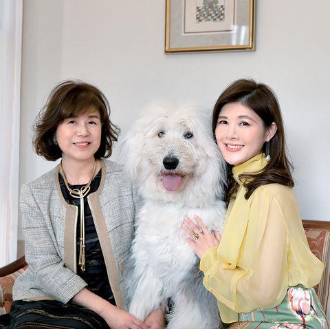 サステナ賢者、阿部瑠以子さん(右)と母・智子さん(左)