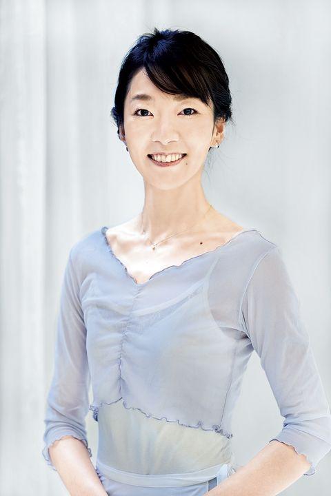 クラシックバレエ・バレリーナストレッチ講師の龍岡玲子さん