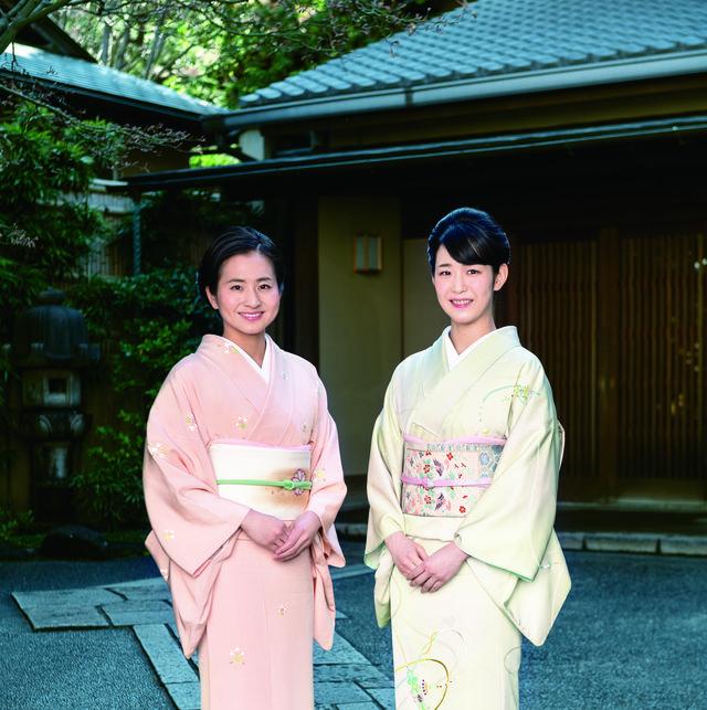 小堀宗翔さんと今井遥選手の着物姿2ショット