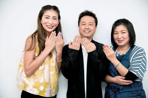 河本準一さん、永江理恵さん、ノンノンさん