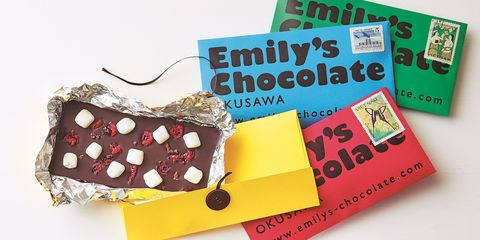 エミリーズチョコレート奥沢「タブレット」