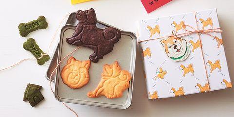 ブールアンジュ「柴犬のクッキー缶」