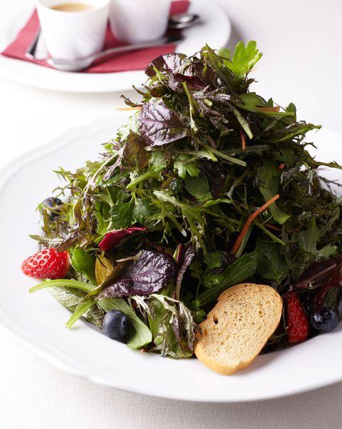 ジャッジョーロ銀座「15種類のハーブサラダ」