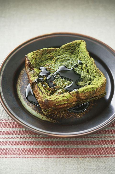 パンとエスプレッソと嵐山庭園「抹茶のフレンチトースト」