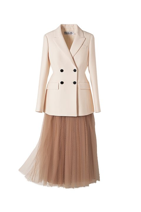 クリスチャンディオールのジャケットとスカート