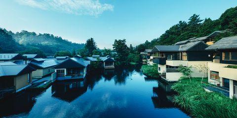 温泉&森林に癒やされる「星のや軽井沢」の旅