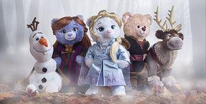 Build a Bear Workshop Frozen II Dolls