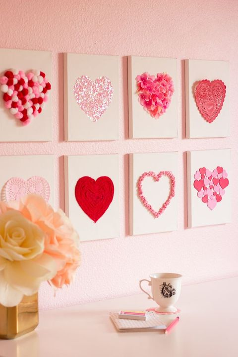 28 Best Diy Valentine S Day Decorations For Your Home 2021
