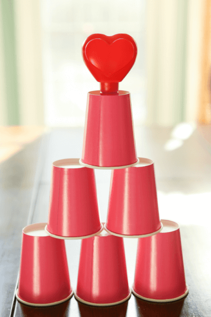 vday games for kids cupids cups