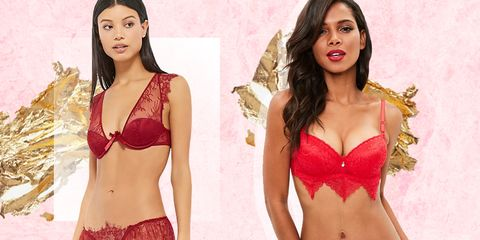 0315c6c0b595 14 Sexiest Red Lingerie Sets - Red Bras and Panties