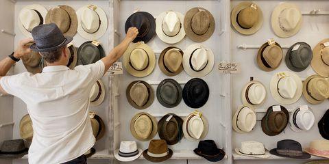Hat, Headgear, Collection, Ceramic, Hatmaking, Cowboy hat, Fashion accessory, earthenware,