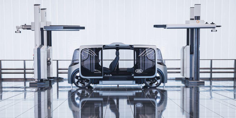 Jaguar's Vector Mobility Pod Makes Us Sad