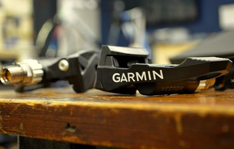 garmin vector pedals power meter