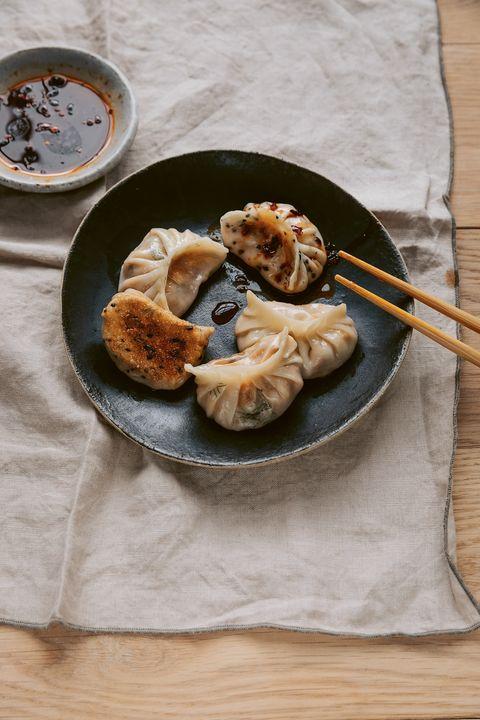 zelf vegan dumplings maken