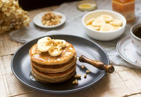 vegan banana pancakes