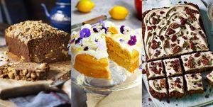 Vegan cakes and desserts