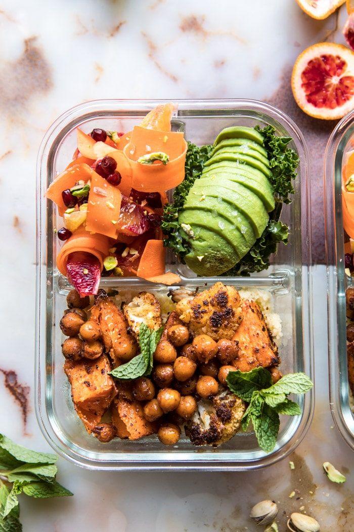vegan camping food recipes bowls