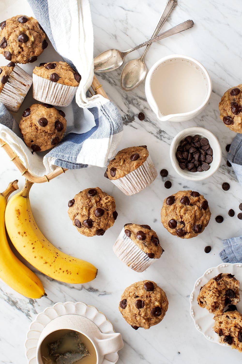vegan camping food recipes muffins