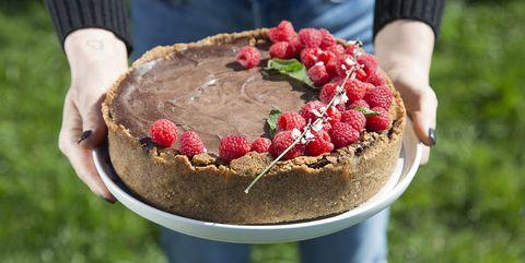 Vegan taart van Willem-pie