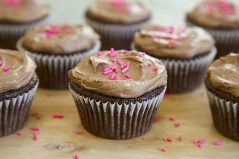 Cheat Day   Chocolate-Avocado Vegan Cupcakes