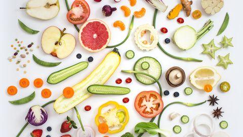 vegan food healthy eating concept image