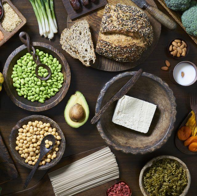 high protein vegan food