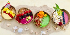 Vegan smoothiebowls bij pele surf shack