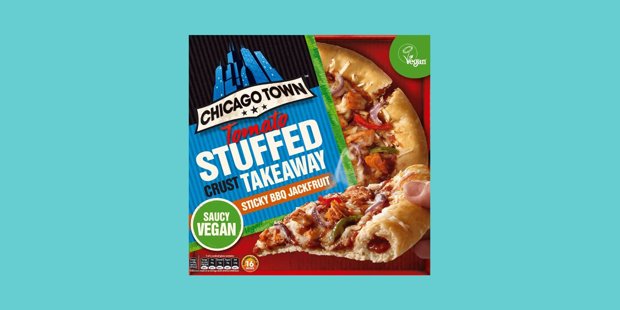 Chicago Towns First Vegan Stuffed Crust Pizza Is Launching