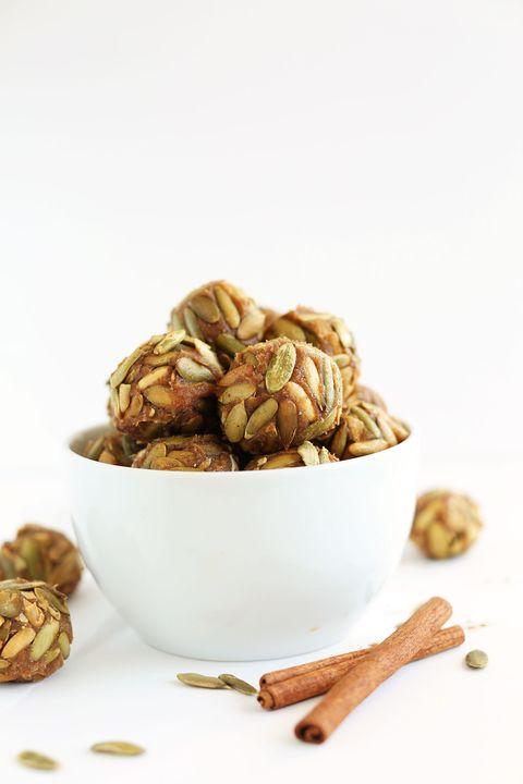 vegan pumpkin seed caramels