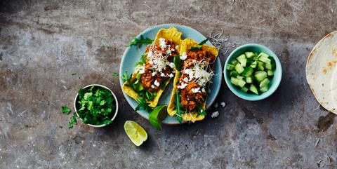 vegan taco recept
