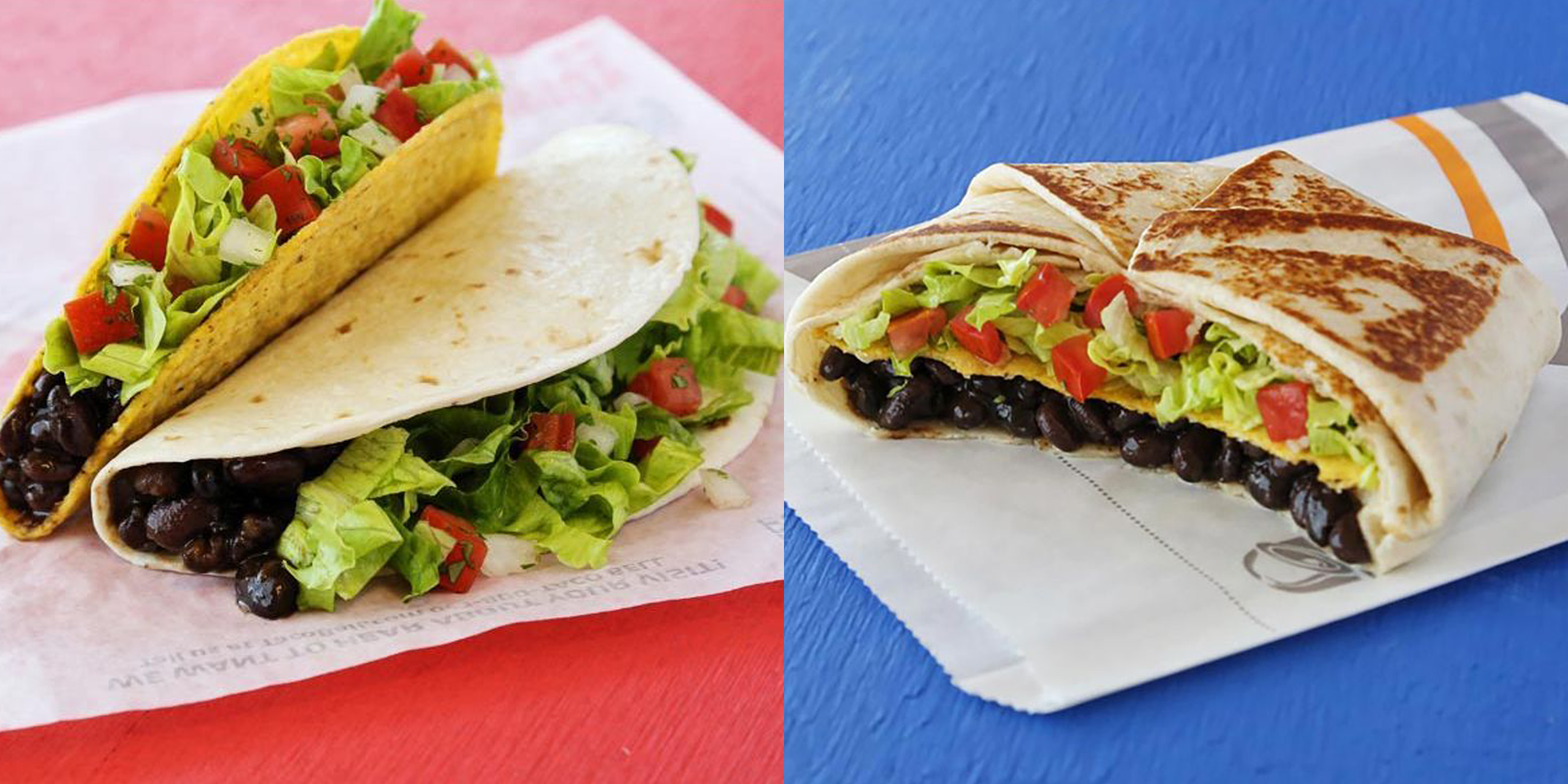 The Best Vegan Options At Taco Bell Vegan Taco Bell Menu