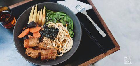 ELLE愛吃貨,台北美食,101,台北101,美食街,天丼琥珀,芒果冰,思慕昔,了凡,日式料理