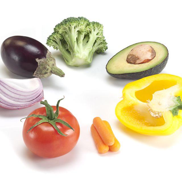 Vegetable Color Wheel