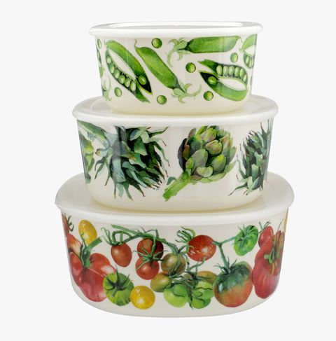Vegetable Garden Set of 3 Storage boxes, Emma Bridgewater