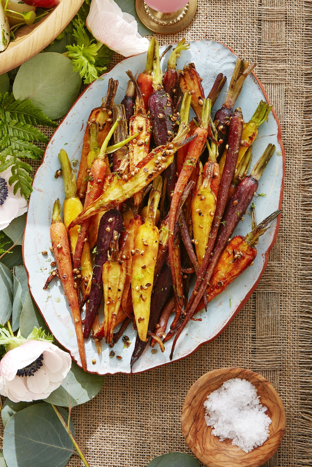 vegetable side dishes carrots coriander