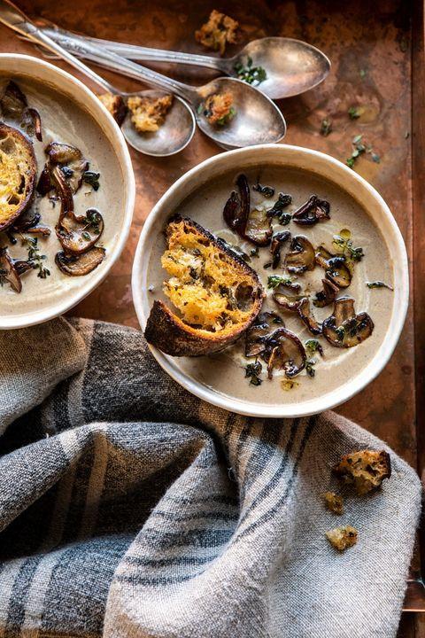 vegetarian soup recipes mushroom