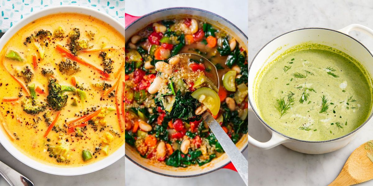 Vegetable Soups That Are Well Worth Making This Winter (They'll Warm You Up ASAP)