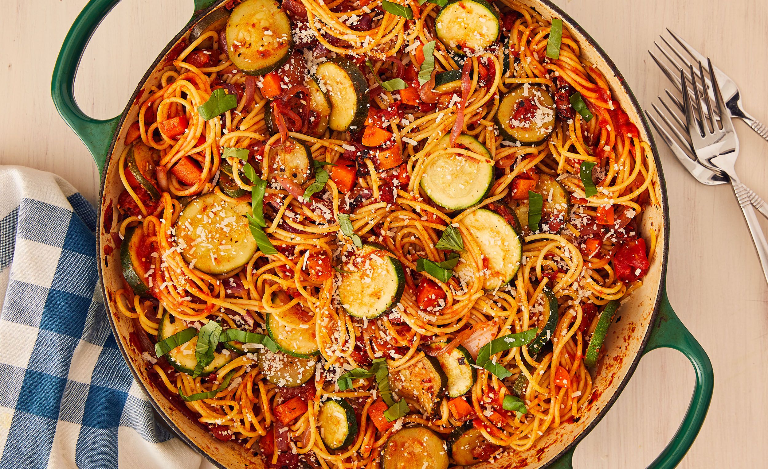 Best Vegetable Spaghetti Recipe How To Make Vegetable Spaghetti